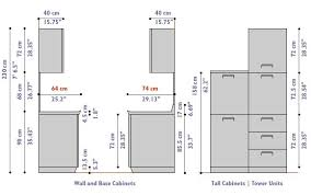 Kitchen Cabinet Dimensions Good To Know Interior Design Tips - Standard kitchen cabinet height