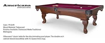 olhausen 7 pool table olhausen american series pool tables