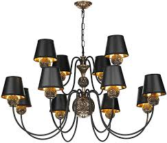 12 Light Chandeliers David Hunt Novella Large Traditional 12 Light Chandelier Bronze