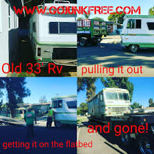 angeles rv and motorhome removal go junk free america