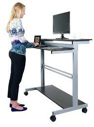 Standing Or Sitting Desk Computer Stand Up Desk Standing Computer Desks Buddy Products Desk