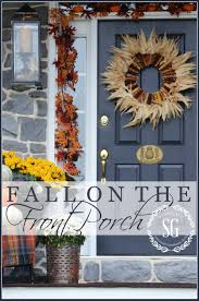 Outdoor Fall Decorating Ideas by Outdoor Fall Decorating In Small Spaces Stonegable
