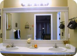 best bathroom mirror frame ideas large mirror bathroom frameless