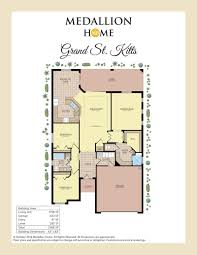 grand st kitts home plan by medallion home in lakes of mount dora