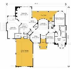 Houseplan Com by Mediterranean Style House Plan 4 Beds 4 50 Baths 4996 Sq Ft Plan
