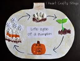 Printable Pumpkin Books For Preschoolers by Life Cycle Of A Pumpkin I Heart Crafty Things