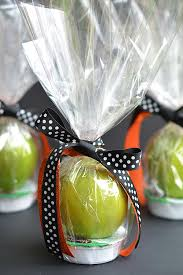 caramel apple party favors apple and caramel fall treats