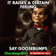 Goosebumps Meme - goosebumps meme by trueblur1 on deviantart