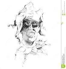 sketch of tattoo art clown joker stock images image 17129004