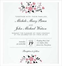 Wedding Invitation Greetings Wedding Invitation Template Free Download Kmcchain Info