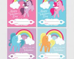 valentines for kids unicorn valentines day cards children valentines printable