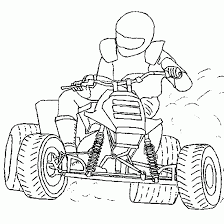 motorcycle coloring pages sport coloring quad skid motocross