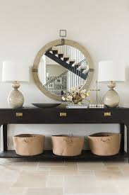Modern Mirrors For Dining Room by Best 20 Large Round Mirror Ideas On Pinterest Large Hallway