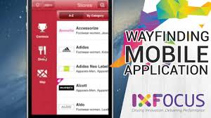 mall app mobile apps way finding solution shopping mall
