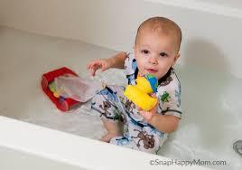 Mom In Bathtub Bathtub Bliss Fully Clothed Snap Happy Mom