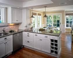 Kitchen Design With Peninsula Peninsula Kitchen Bi Level Peninsula At An Angle To The Wall