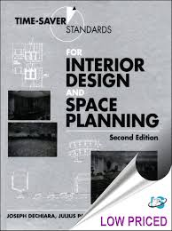 time design planner time saver standards for interior design and space planning 2nd