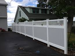 Privacy Fencing Ideas For Backyards Fence Awesome Illusions Pvc Vinyl Fence Ideas And Images Awesome