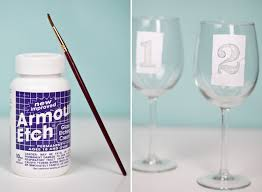 diy monogram wine glasses diy monogrammed etched wine glasses etchings glass etching and wine