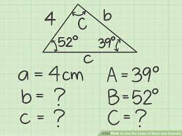 4 ways to use the laws of sines and cosines wikihow