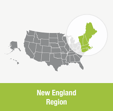 New England Area Map by New England Region Uua Org