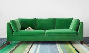 Green Velvet Tufted Sofa by Decor Tufted Sectionals Sofas Velvet Sectional
