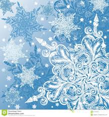 doodle snowflake christmas background royalty free stock photo