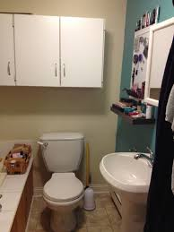diy bathroom ideas for small spaces small bathroom storage idea with diy shelving the toilet
