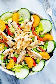 high protein salad recipes popsugar fitness