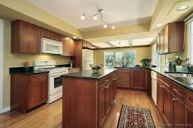 kitchen color schemes with cherry cabinets pictures of kitchens traditional medium wood cherry color