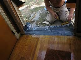 Laminate Flooring Door Threshold House Retrofit 10b