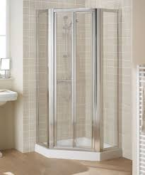 Shower Door 700mm 700mm Pentagon Pivot Shower Enclosure