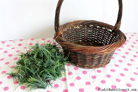 thrift store easter baskets with permanent grass find it make
