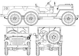 ww2 jeep drawing williys jeep t14 1942 blueprint download free blueprint for 3d
