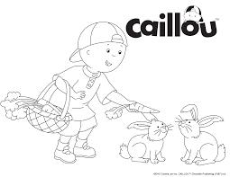 76 best caillou coloring fun images on pinterest caillou