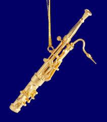 brass bassoon ornament mini bassoon 3 1 4 small