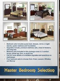 Bedroom Furniture Package Tidewater 1 3 Room Furniture Package