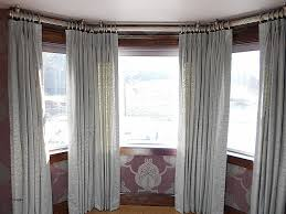 Bay Window Curtains Window Curtain Beautiful How To Measure For Bay Window Curtains