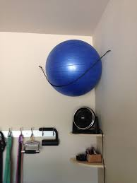 diy exercise ball storage google search sports u0026 outdoors