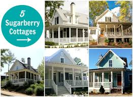 Cottage Plans For Sale by Sugarberry Cottage 5 Houses Built With Same Popular Plan