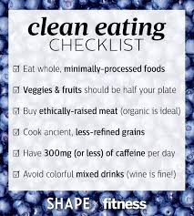 healthy food diet 7 day clean eating challenge shape magazine