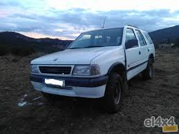 opel frontera used opel frontera cars spain