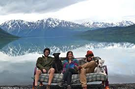 Alaska how long does it take for mail to travel images Friends embark on 18 000 mile road trip across the us taking jpg