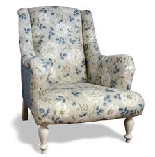 shabby chic chair upholstered armchair by feather u0026 weave