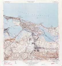 Map Of Puerto Rico Puerto Rico Historical Topographic Maps Perry Castañeda Map