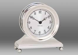 Nautical Desk Clock Brass Constitution Nautical Desk Clock Chelsea Clock