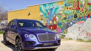 bentley bentayga truck the 2017 bentley bentayga is way too ridiculous and way too fast