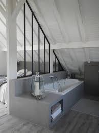 chambre avec lambris blanc incroyable chambre avec lambris blanc 1 salle bains verriere