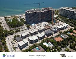 oceana key biscayne officially topped off news