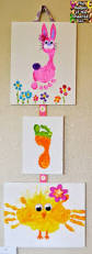 the keeper of the cheerios easter hand print and footprint crafts